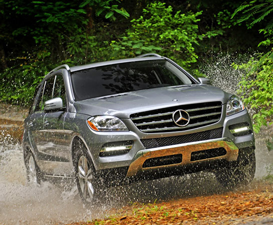 Mercedes ML 350 CDI - Stage 2 By DimSport
